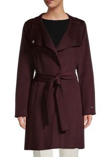 Tahari Evana Belted Coat