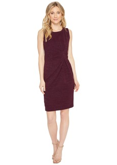 Tahari Gathered Sheath Dress