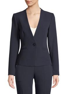 Tahari Hilda Tie-Back Blazer Jacket