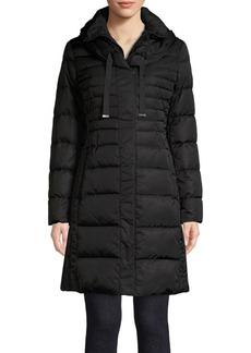 Tahari Hooded Puffer Jacket