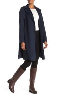 Tahari Jay Wool Blend Topper Coat