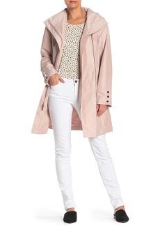 Tahari Karly Rain Hooded Jacket