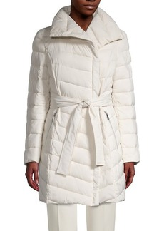 Tahari Kim Quilted Wrap Jacket