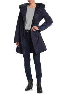 Tahari Kourt Mixed Media Jacket