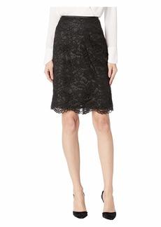 Tahari Lace Pencil Skirt