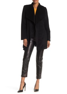 Tahari Layla Wool Blend Wrap Coat