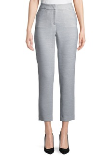 Lucille Stretch Straight-Leg Pants