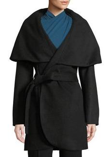 Tahari Marla Belted Wool Coat