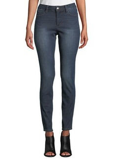 Tahari Mid-Rise Classic Skinny Jeans