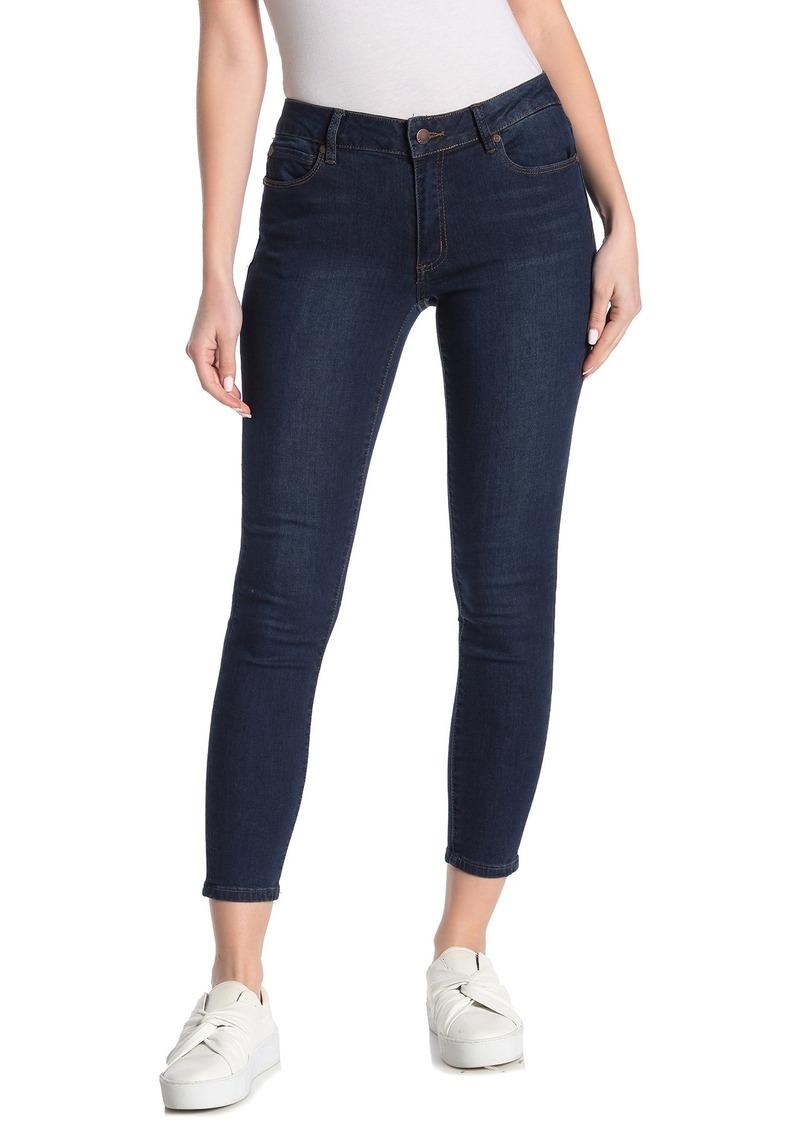 Tahari Mid-Rise Skinny Jeans
