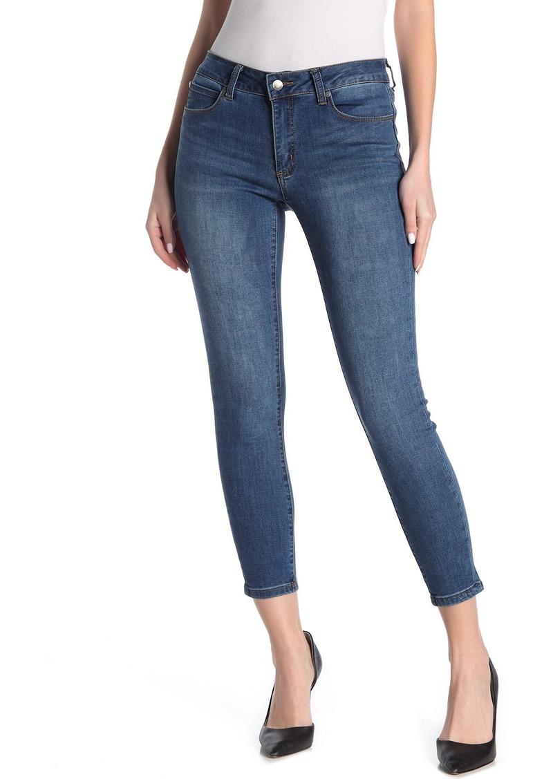 Tahari Mid-Rise Thigh Slimming Jeans