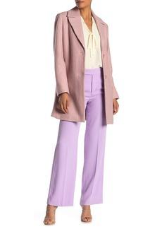 Tahari Notch Collar Long Sleeve Coat