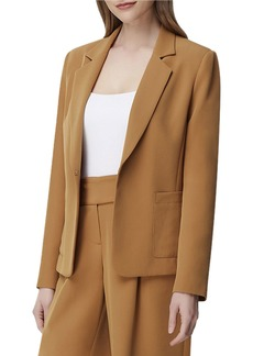 Tahari Notch-Collar Patch-Pocket Jacket