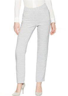 Tahari Novelty Grey Suiting Pants