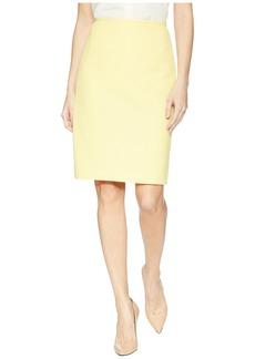 Tahari Novelty Pique Pencil Skirt