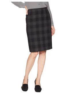 Tahari Novelty Plaid Pencil Skirt