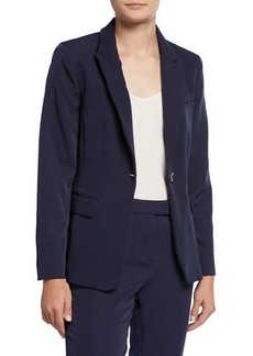 Tahari One-Button Blazer