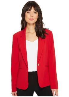 Tahari One-Button Notch Collar Jacket