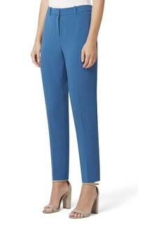 Tahari Pebble Crepe Ankle Pants