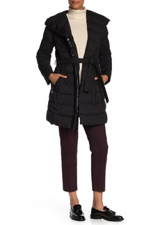 Tahari Quilted Puffer Jacket