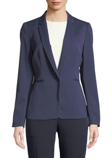 Tahari Sal One-Button Blazer Jacket
