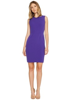 Tahari Seamed Bodice Sheath Dress