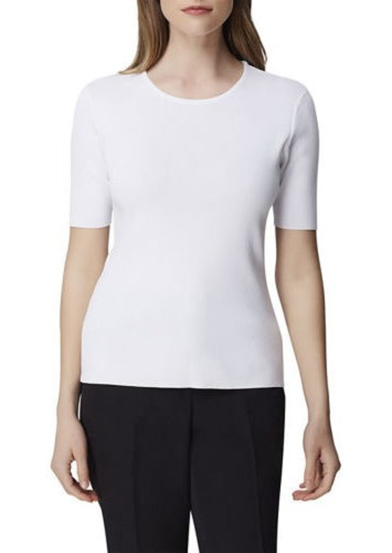 Tahari Short-Sleeve Sweater