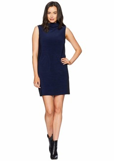 Tahari Sleeveless Mock Neck Sheath Dress