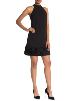 Tahari Sleeveless Stretch Crepe Sheath Dress