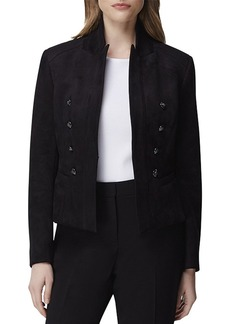 Tahari Stand-Collar Military Jacket