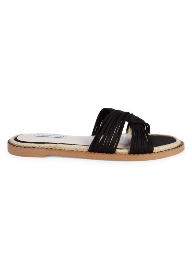 Tahari Strappy Slide Sandals