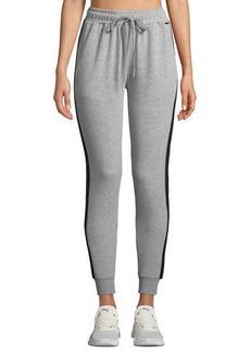 Tahari Striped Slim-Fit Jogger Pants