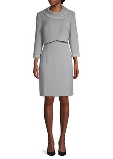 Tahari 2-Piece Dress & Jacket Set