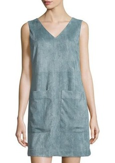 Tahari Ally Patch-Pocket Dress