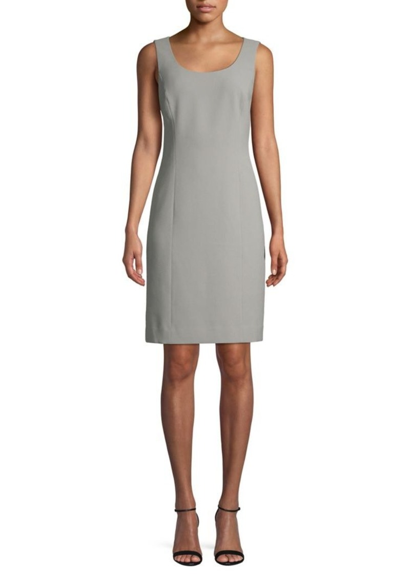Tahari Arthur S. Levine 2-Piece Sheath Dress & Bead-Collar Bell-Sleeve Jacket Set