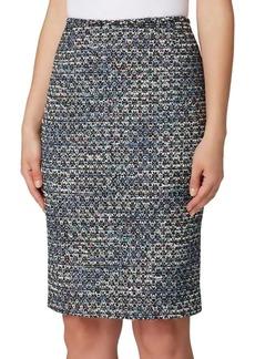 Tahari Arthur S. Levine Boucle Pencil Skirt