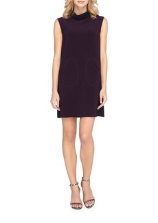 TAHARI ARTHUR S. LEVINE Colorblock Sleeveless Shift Dress