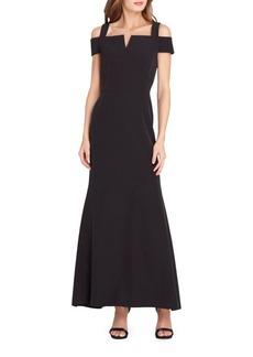 Tahari Arthur S. Levine Crepe Fit-&-Flare Dress
