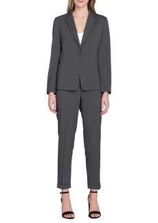 Tahari Arthur S. Levine Cuffed Jacket and Pant Suit