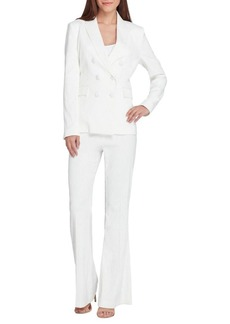 Tahari Arthur S. Levine Double Breasted Jacket and Pant Suit