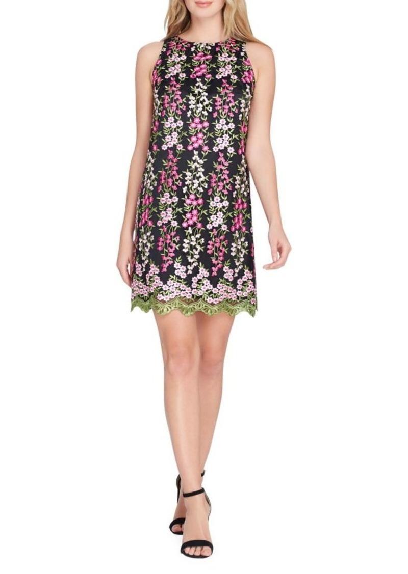 644b4418b098 Tahari Tahari Arthur S. Levine Embroidered Floral Sheath Dress   Dresses