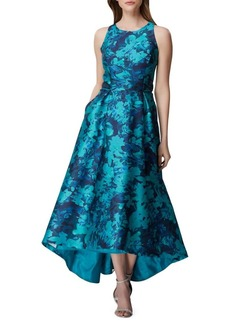 Tahari Arthur S. Levine Floral-Print Fit-&-Flare Dress