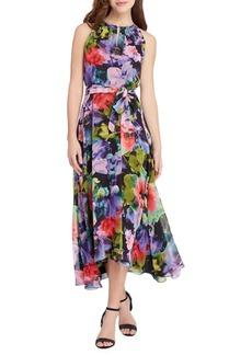 Tahari Arthur S. Levine Floral Printed Midi Dress