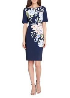 Tahari Arthur S. Levine Floral Sheath Dress