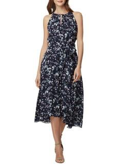 Tahari Arthur S. Levine Floral Sleeveless A-Line Dress