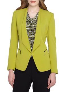 TAHARI ARTHUR S. LEVINE Foldover Collar Jacket