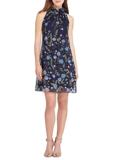Tahari Arthur S. Levine Garden Embroidered Shift Dress