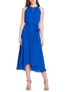 Tahari Arthur S. Levine Halterneck Midi Dress