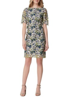 Tahari Arthur S. Levine Lace Sheath Dress