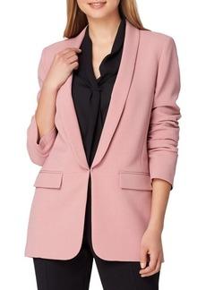 Tahari Arthur S. Levine Long Shawl Collar Jacket